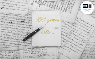 100 Year letter from CEO